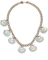 Tatty Devine | Scallop Shells Necklace | Lyst
