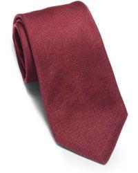 Michael Kors - Textured-silk Tie - Lyst
