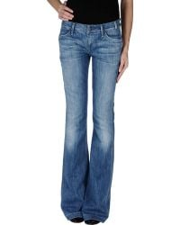Citizens Of Humanity Blue Denim Pants - Lyst