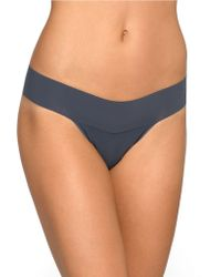 Hanky Panky Bare Eve Natural Rise Thong - Lyst
