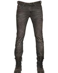 Diesel 18cm Thavar Raw Denim Jeans - Lyst