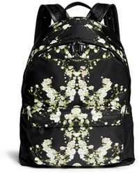 Givenchy Baby'S Breath Floral Print Nylon Backpack - Lyst