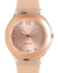 Forever 21 Plastic Analog Watch - Lyst
