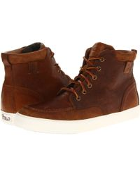 Polo Ralph Lauren Tedd brown - Lyst