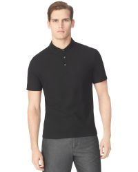 Calvin Klein Shoulder Print Polo Shirt - Lyst