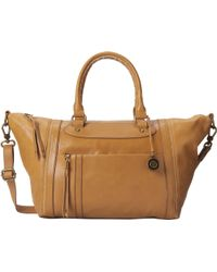 The Sak Yellow Loretta Satchel - Lyst