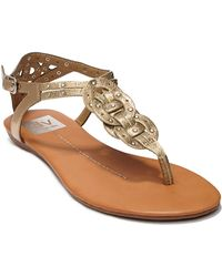 Dv By Dolce Vita Azania Leather Sandals - Lyst