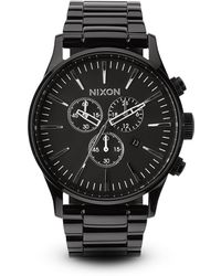 Nixon The Sentry Chrono Watch 42mm - Lyst