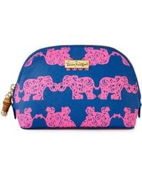 Lilly Pulitzer - Pack Your Trunk Cosmetic Case - Lyst