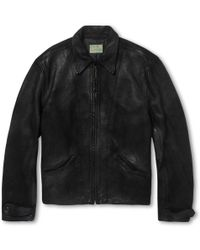 Levi's Vintage Clothing Distressed Suede Jacket - Lyst