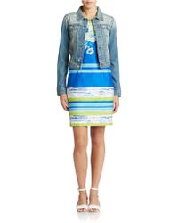 Chetta B | Cotton Denim Jacket | Lyst