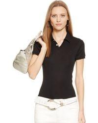 Ralph Lauren Black Label Short-Sleeved Polo Shirt - Lyst
