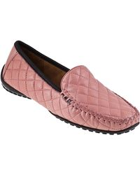 Robert Zur Quana Loafer Rose Pink Leather - Lyst