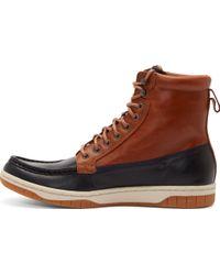 Diesel Brown and Black Club Tatra Boots - Lyst