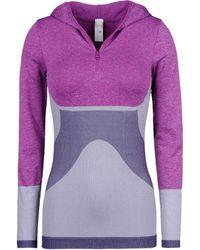 Stella McCartney Wintersports Seamless Long Sleeved Top - Lyst