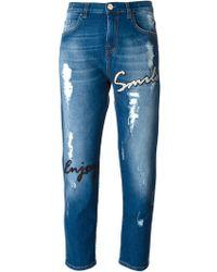 Pinko Chianti Boyfriend Jeans - Lyst