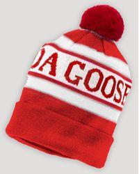 Canada Goose Logo Pom Pom Hat - Lyst