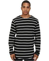 Publish Dover Premium Stripe Knit Ls Crew Neck Tee - Lyst