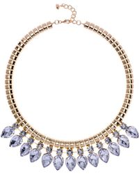 Ted Baker Emari Pear Drop Necklace - Lyst
