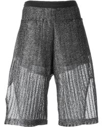 Lost & Found | Knitted Shorts | Lyst
