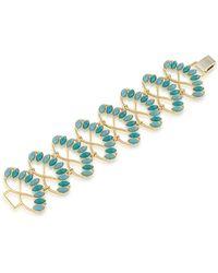Carolee - Observation Deck Marquis Stone Bracelet - Lyst