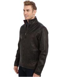 Tommy Bahama Sunset Rider Leather Jacket - Lyst