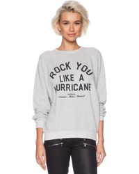 Junk Food Rock You Sweatshirt - Lyst
