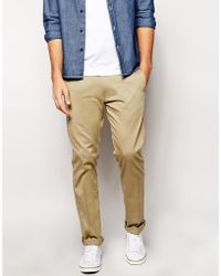 Diesel Chinos P-Aily Slim Tapered Fit - Lyst
