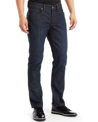 Kenneth Cole Reaction Darkwash Straightfit Jeans - Lyst