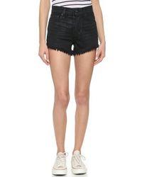 Ksubi Pretty Vegas Coated Shorts - Black Coated - Lyst