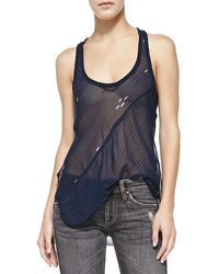 Etoile Isabel Marant Cameron Striped Tank Top - Lyst