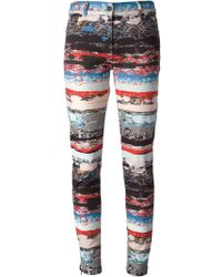 Opening Ceremony Terrazzo Print Skinny Jeans - Lyst