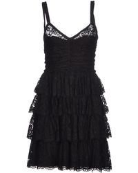 D&G Short Dress - Lyst