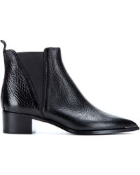 Acne Studios Jensen Leather Ankle Boots - Lyst