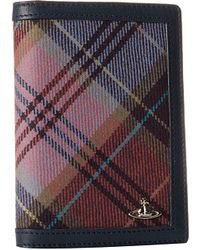 Vivienne Westwood New Tartan Passport Holder - Lyst