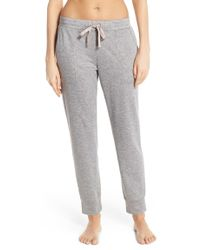 Midnight By Carole Hochman - Heathered Lounge Pants - Lyst