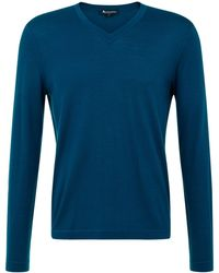 Aquascutum Pearce V Neck Knit - Lyst