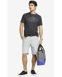 Express 10 Inch Belted Cargo Shorts - Lyst