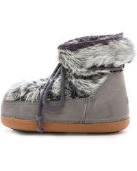 Ikkii - Rabbit Low Sheepskin Shearling Boots - Lyst