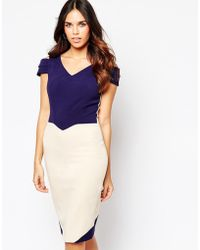 Hybrid - Luxe Omega Dress With Cut Out Sleeve In Crepe - Lyst
