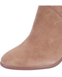 Vince Camuto | Franell Suede Ankle Boots | Lyst