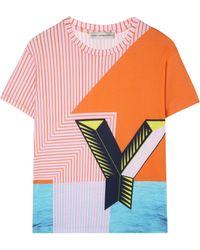 Mary Katrantzou Y For Yummy T-shirt - Lyst