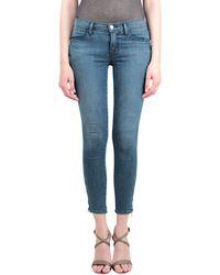 J Brand Tali Zip Jeans - Lyst