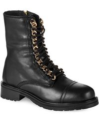 Steve Madden 2Chain Combat Boots - Lyst
