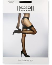 Wolford Individul 10 Stockings - Lyst