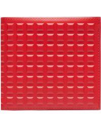 Balenciaga Grid Square Wallet - Lyst
