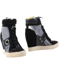 C'N'C Costume National Ankle Boots black - Lyst