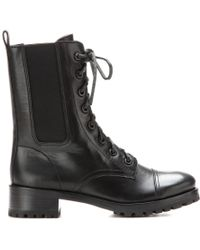 Tory Burch Broome Leather Boots - Lyst