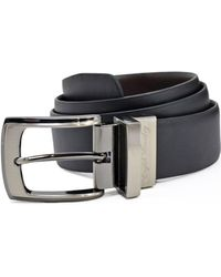 English Laundry - Reversible Smooth Leather Dress Belt - Compare At $49.50 - Lyst