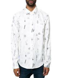 Wesc The Clint Ls Buttondown Shirt - Lyst